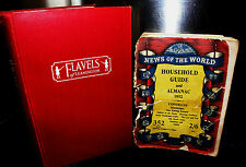 ** Home Cooking The Flavel Way 1960's & Household Guide, Almanac 1952 PHOT