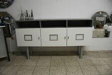 Kommode Sideboard Büroschrank Badschrank grau weiss TV Schrank Anrichte