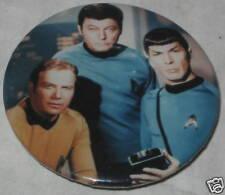 """Star Trek Tv Show Cast Pin Approx 1.75"""""""