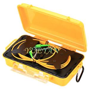 SC APC-SC APC Single Mode 9/125um 1310/1550nm 1KM OTDR Launch Cable Box Ring