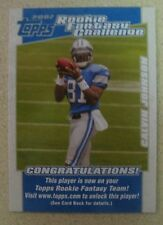 CALVIN JOHNSON 2007 TOPPS ROOKIE FANTASY CHALLENGE RC #5 MEGATRON ROOKIE CARD