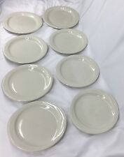 Rego Dinner Plates Off White Set Of 8