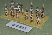 25mm Classical / Indian - javelinmen 12 figures - inf (22615)
