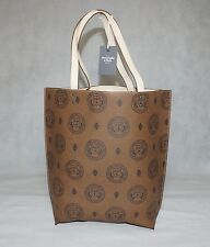 Abercrombie & Fitch Faux Leather Reversible Tote