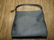 Coach Mercer Black Twill Nylon Leather Handbag Style # g0k-7417