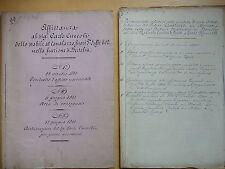 1910-Podere CANALAZZO in BERTALIA-BOLOGNA-DOCUMENTO RELATIVI ALLA VENDITA