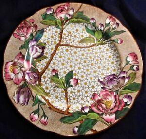 WEDGWOOD SUPERB ''PLUM BLOSSOM'' PATTERN DINNER PLATE, 25.8cm (10.15in) DIA.