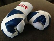 SCOTLAND SCOTTISH FLAG Mini Boxing Gloves