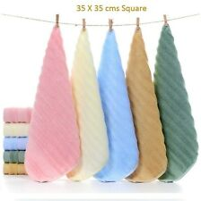 Set of 5 Bamboo Terry Ultra Soft Antimicrobial Hand/Face/Sports Bamboo Towel