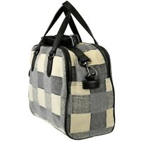 ESPRIT Damen Karo Tasche Handtasche Schultertasche Trage Umhängetasche Check Bag