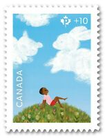 COMMUNITY FOUNDATION = DIE CUT to shape from Quarterly Pack = MNH-VF Canada 2018