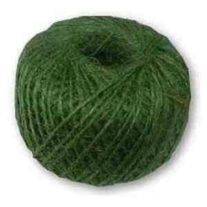 New 250g Roll Gardman Jute Twine Ball of String Green Plants & Gardening Support