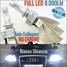 Kit Anabbaglianti LED H7 AUDI A6 c6 4f CANBUS 6500K Bianco GHIACCIO luci tuning