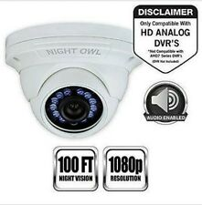 OpenBox Night Owl Security, 1 Pack Add–On 1080p HD Wired Security Dome Camera –