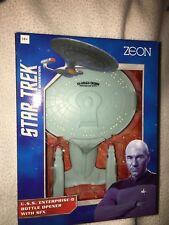 Star trek the next genertion  USS  enterprise 1701-D bottle opener with sounds.