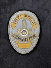 Los Angeles Ebroidered Police Badge Obsolete
