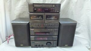 Sony MHC-3500 Mini Hi Fi Component System Gale Monitor 10 Speakers Bluetooth JAP