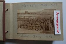 Hammer Seltenes Fotoalbum 1916 -18 Türkei Palästina Front Syrien 1 WK