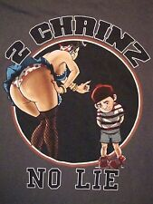 2 Chainz No Lie Two Chains Rap Hip Hop Music Momma Pinup Pin-up T Shirt 2XL