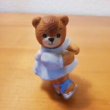 New ListingVintage 1988 Enesco Lucy Rigg ~ Lucy and Me Bears - Bear on Roller Skates ~ Euc