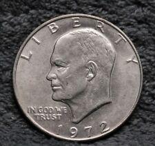 1972-D LIBERTY One Dollar EISENHOWER $1 U.S. Coin Well Kept FREE SHIPPING #J2018