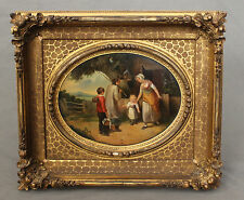 18th 19th Century Oil Painting Circle Francis Wheatley