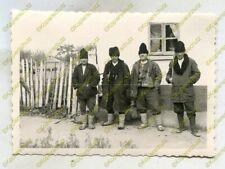 Foto, Wehrmacht, Bevölkerung und Typen aus dem Raum Giurgiu, Rumänien, b 21024