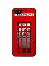 iPhone 5/5s/SE funda carcasa dura rigida decorada cabina roja londres Dibujos