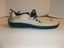 Womens Size 42/11 Arcopedico Beige Woven Sneakers/Oxfords