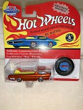 "Hot Wheels Vintage Collection Series 2  #10495 ""DEORA""  - Burnt Orange  (B)"