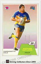 2003 Select NRL Scanlens Trading Card Retro #20:Nathan Cayless (EELS)