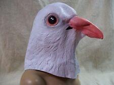 White Dove Costume Mask Bird Pigeon Homing Release Spirit Peace Wedding Prank OS