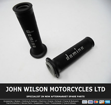Honda SJ 50 Bali 1995 - 2001 Black Grey Domino Handle Bar Race Grips