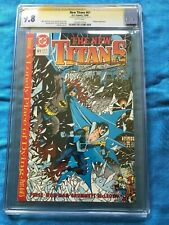 New Titans #61 - DC - CGC SS 9.8 NM/MT - Signed by George Perez