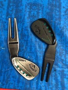 Callaway Divot Tool - Mack Daddy Wedge - Polished - Black Pair of Divot Tools