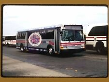 Original Slide Bus, Washington Dc, Wmata 9343 Kodak 1998