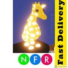 Adopt Me - Neon NFR Giraffe ( FAST AND TRUSTED SELLER )