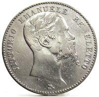 Firenze (Vittorio Emanuele II-Re Eletto) da Lire 2-1860