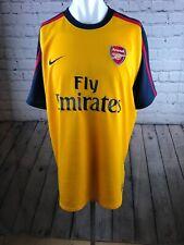 Arsenal football Shirt Nike Adults XL Away Kit Faint Marks See Description.