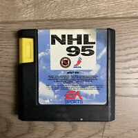 NHL 95 (Sega Genesis, 1994) No Box - Tested