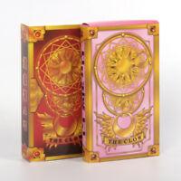 55Pcs Anime Sakura Kinomoto Card Captor Clow Cards Cosplay Fortune Tarot Card