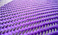 230gsm Aramid Carbon Fiber Blended Fabric mixed carbon cloth 0.5㎡//Lake Blue