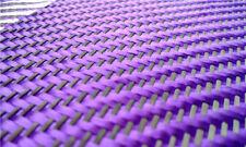 Black+ Purple Aramid Carbon Fiber Blended Fabric Carbon Fixed cloth Twill weave