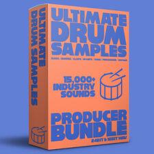 Ultimate Drum Samples - 15,000+ Trap, Hip Hop, Pop, EDM - Logic, Fruity, Live