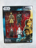 """Star Wars Rogue One Jedha Revolt  Action Figure Hasbro 4"""" Toy"""