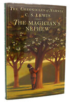 C. S. Lewis THE MAGICIAN'S NEPHEW (NARNIA)  Book 1 1st Edition 4th Printing
