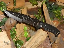 """M-tech/Knife/Bowie/Blade/ 440Ss/Full tang/Tanto/Combat/Camping /Survival/12"""""""