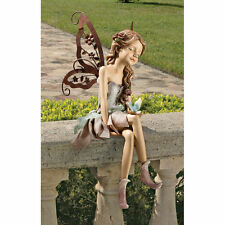 Fairy Pixie Statue Winged Magical Shelf Window Sculpture New