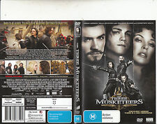 The Three Musketeers-2011-Logan Lerman-Movie-DVD