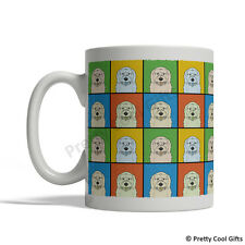 Goldendoodle Dog Mug - Cartoon Pop-Art Coffee Tea Cup 11oz Ceramic golden doodle